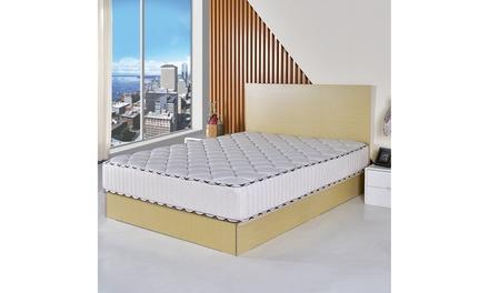 10 Inch Memory Foam Mattress Pad Sleepover Living Room Bed Topper