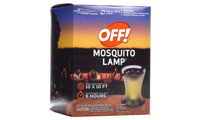 Off Moquito Lamp, 2 CT.