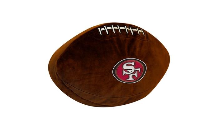 NFL 199 49ers 3D Sports Pillow