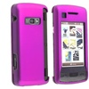 Insten For LG enV Touch VX11000 Dark Purple Snap-On Rubber Hard Case