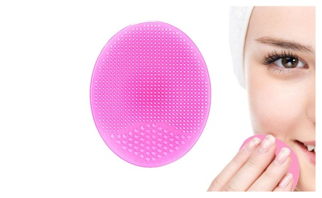 Silicone Pore Scrubbers Beauty Tools Facial Cleanser Pink and Purple 1ead583a-036a-4c68-8dfe-77ab204dd240