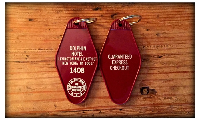 Stephen King 1408 Inspired Dolphin Hotel Keytag | Groupon