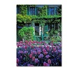 Kathy Yates Monets House With Tulips Canvas Print