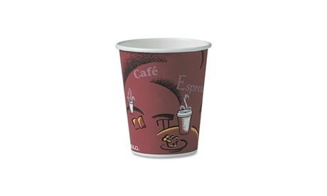 SOLO Cup Company Bistro Design Hot Drink Cups, 10oz fc99717c-6608-443e-8741-ba56fe0072d5