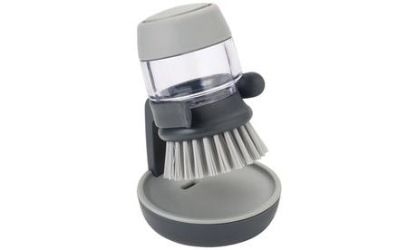 Joseph Joseph Palm Scrub Soap Dispensing Dish Brush with Holder 5ec77859-a37d-4354-b8fd-7e889502977a