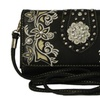 All In One Organizer Wallet Western Bling Concho Organizer Cross Body