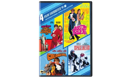 4 Film Favorites: International Spies (4FF) (DVD) 38cf5c79-cbb6-49cf-9212-4f8daaf15801