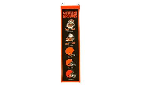 Cleveland Browns Heritage Wool Banner cda818d9-8004-4ba7-b808-e82c9fab39a2