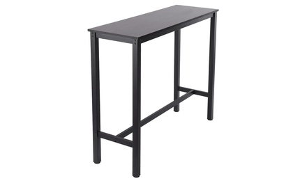 Household Pub Table Counter Height Dining Table for Kitchen Dining Room