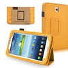 Insten Yellow Leather Case for Samsung Galaxy Tab 3 7.0 P3200 P3210