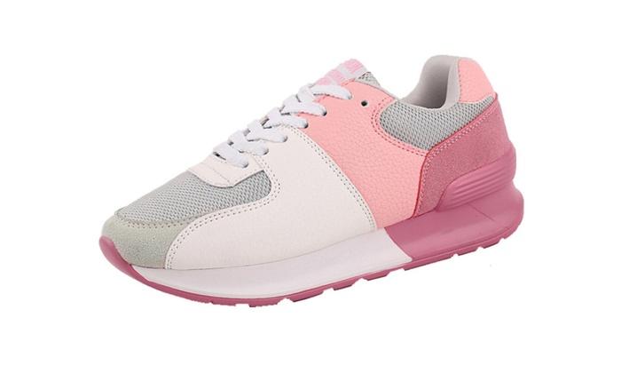 Women's Fashion Microfiber Sneaker