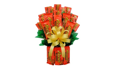 I Ate My Gift IAMG014M All Reeses Candy Bouquet - Medium f27580b4-5998-40fe-995b-840b60d43b99