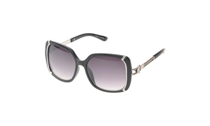 MLC Eyewear 'Ammityville' Square Fashion Sunglasses in Black