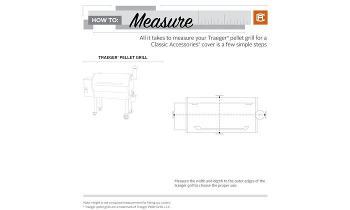 Classic Accessories Veranda 22 Series Traeger Pellet Grill