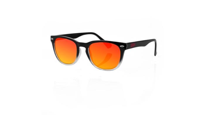 Zanheadgear NVS Sunglass Blk Gradient-Smoked Crimson Mirror