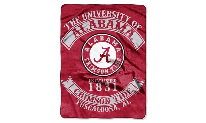 COL 100 Alabama Sweatshirt Throw