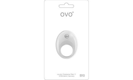 Ovo B10 Vibrating Ring White a708fd5f-4cf1-4192-92e7-d3f050b0644e