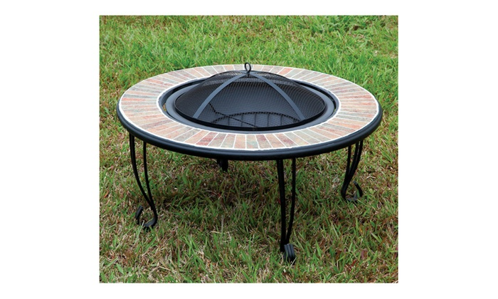 Celly Ceramic Border Outdoor Fire Place