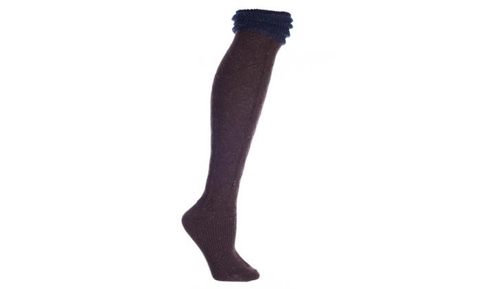 Wool Knee High Sock-Speckled