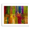 Michelle Calkins 'Color Abstract' Canvas Rolled Art