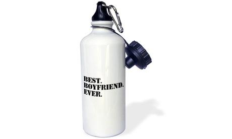 Water Bottle Best Boyfriend Ever, Gifts for him, Anniversary, Valentines Day