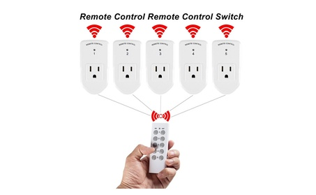 Century Wireless Remote Control Outlet Switch for Home Appliance photo