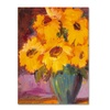 Sheila Golden Sunflower 5 Canvas Print