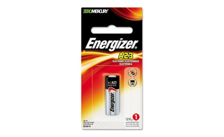 Energizer Watch/Electronic Battery, Alkaline, A23, 12V, Mercury Free (EVEA23BPZ)