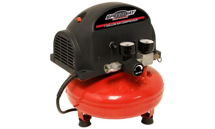 Speedway 1 Gallon Pancake Compressor & inflation kit