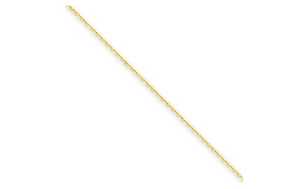 IceCarats Designer Jewelry 14k .95mm D/C Cable Chain