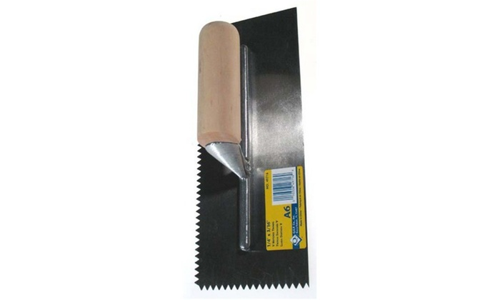Notched Trowel 11In