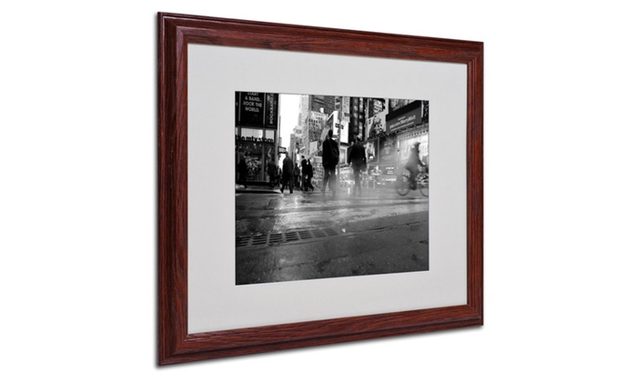 Yale gurney 39 44th street 39 matted framed art groupon for 44th street salon