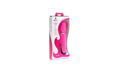 Heat Fever 7x Self Heating Vibrating Wand Pink 83bd20c2-4ba4-498f-9cd7-445c476dd488