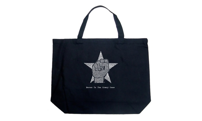 Large Tote Bag – Steve Jobs – Here's To The Crazy Ones