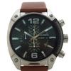 Diesel DZ4296 Chronograph Brown Leather Strap Watch