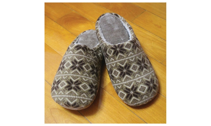 Hand Paint Bamboo Home Slippers