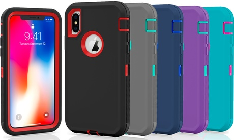 Apple iPhone 10 X / XS / MAX / XR Protective Shockproof Hybrid Defender Case