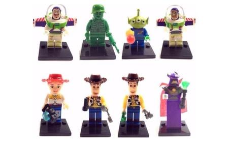 8 MiniFigure Toy Story Woody Buzz Lightyear Alien Zurg Building Blocks b12b9910-c32f-4253-9a4b-5d7f40ed4580
