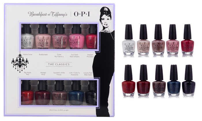 Up To 27% Off on OPI Breakfast at Tiffany\'s 10... | Groupon Goods