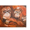 Judy Harris Apes Canvas Print