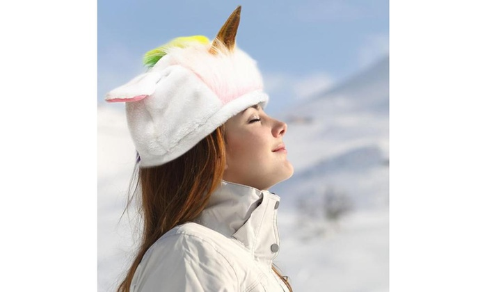 0f0fdcf7f80 Up To 67% Off on Unicorn Cold Weather Hat for ...