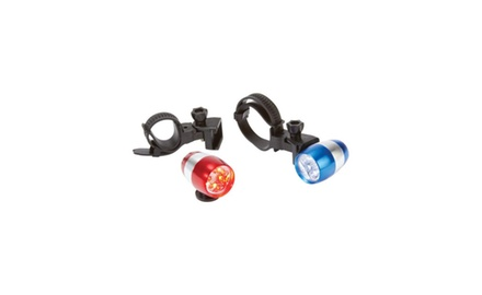 2pc Nugget LED Aluminum Bicycle Light Set