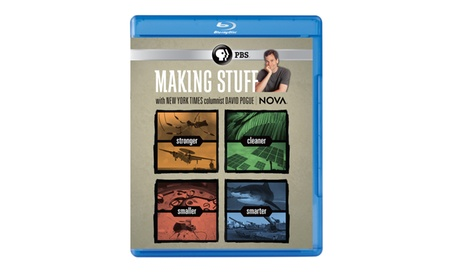 NOVA: Making Stuff Blu-ray e6a04f66-d479-4aaa-890d-78413f5f05ca