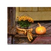 Lois Bryan Pumpkin on the Porch Canvas Print