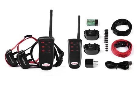 Dogwidgets DW-5 Two Dog Training Collar Shock Vibration Trainer Remote b851a574-abfe-48d4-a058-b341624c2962