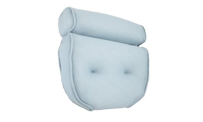 Home Spa Bath Pillow Luxury Bolster Bath Pillows   Groupon