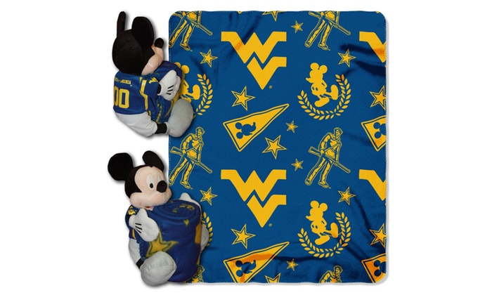 COB 038 West Virginia Mickey Hugger with Throw