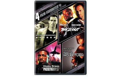 4 Film Favorites: Extreme Action (Dbl DVD)
