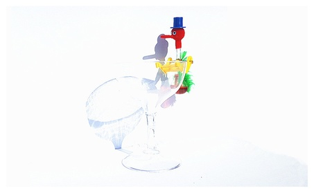 Mini Drinking Bird With Water Cup 4f0ba6ec-96dd-4f78-b9a0-59e5b395e0f0
