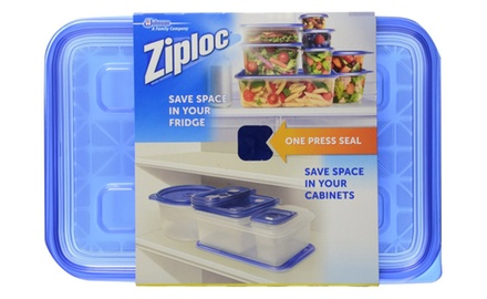 Ziploc Container Large Rectangular Sleeved (Pack of 12)